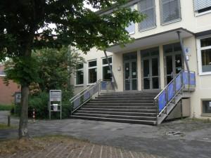 Eingang - Unser Treffpunkt an der Schule